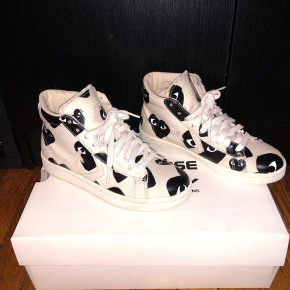 Comme des Garcons Shoes - comme de garçon x converse hightops